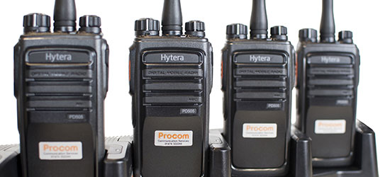 Radios for hire